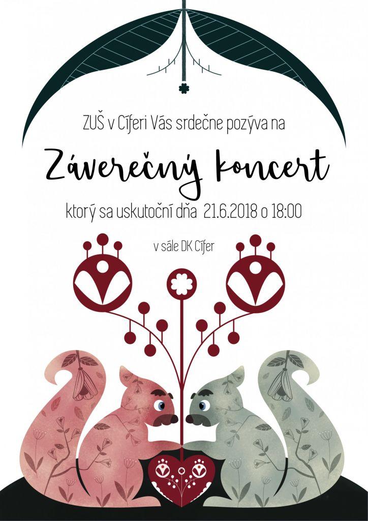 Záverečný koncert ZUŠ - 21.6.2018 1