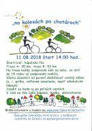 """Cykloakcia """"na kolesách po chotároch"""" - 11.8.2018 1"""