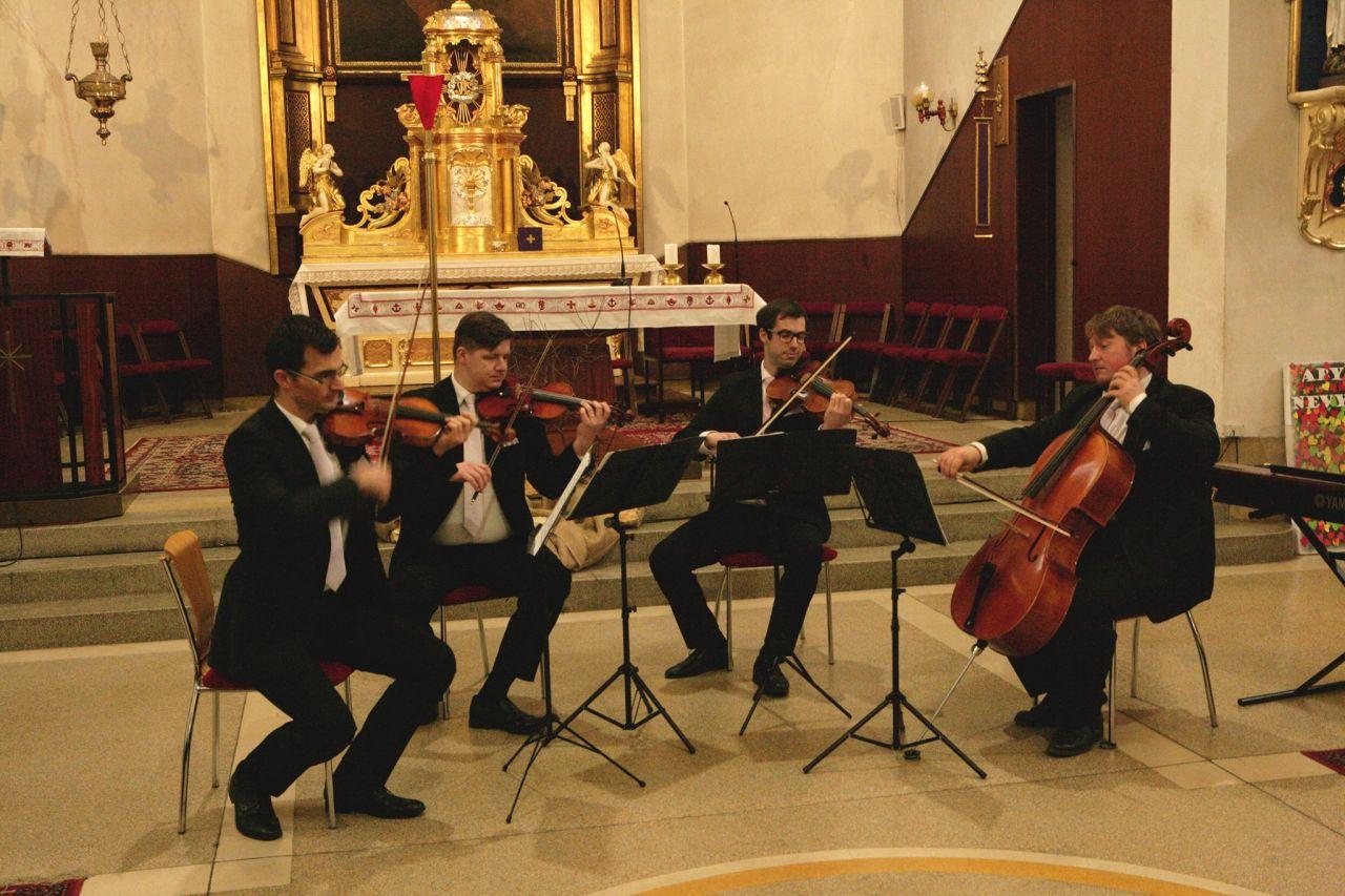 Mucha Quartet (Cíferská hudobná jar) - 19.5.2019 1