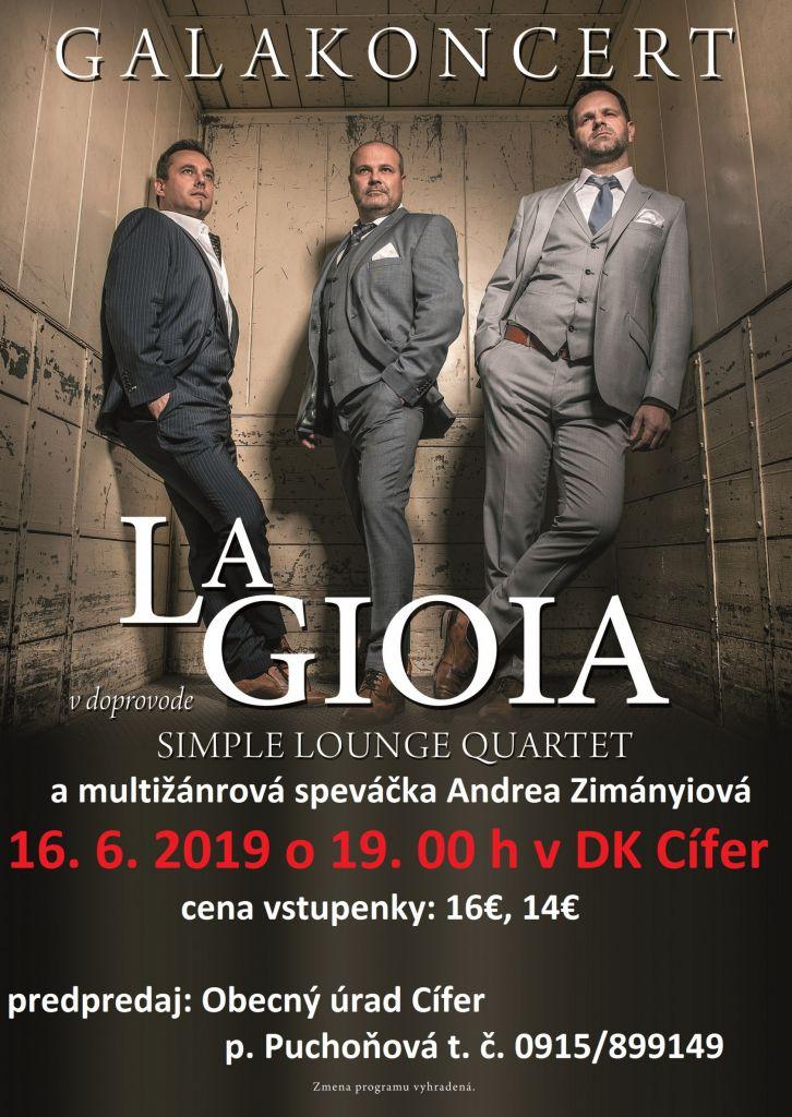 Koncert LA GIOIA - 16.6.2019 1