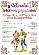 Cíferské folklórne popoludnie - 20.7.2019 1