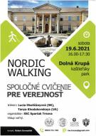 Nordic Walking Dolná Krupá - spoločné cvičenie 1